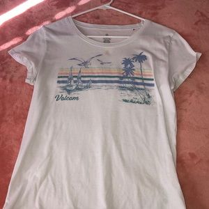 Volcom beach design T-shirt